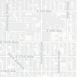 Cheesman Park Crime Map: Denver Crimes on