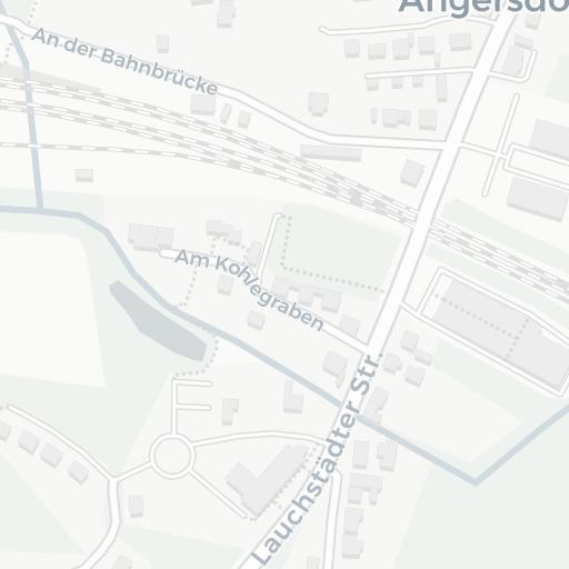 ▷ Stadtplan, Karte von Angersdorf bei Halle, Saale im ...